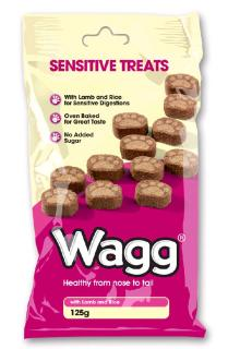 Wagg Sensitive treats, 125 g