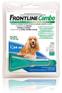Frontline Combo M dog spot-on 10-20 kg