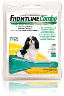 Frontline Combo S dog spot-on 2-10 kg