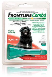 Frontline Combo XL dog spot-on 40-60 kg